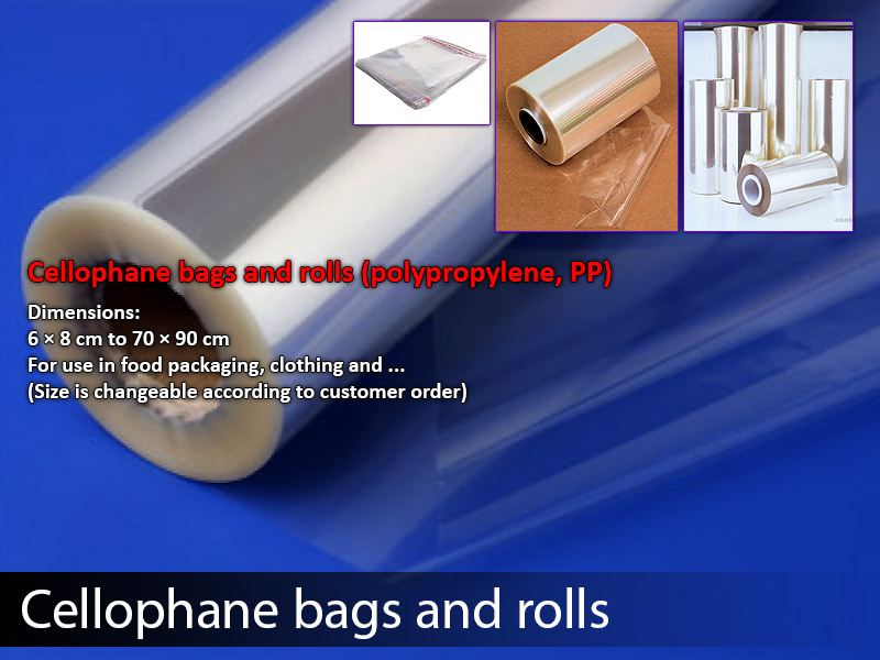 Cellophane bags & Roll
