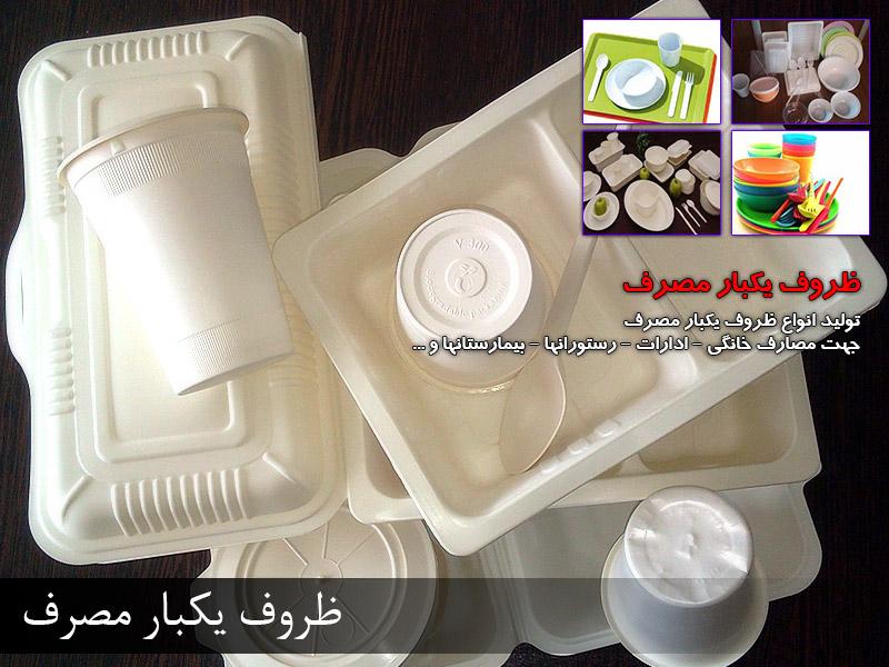 ظروف یکبار مصرف